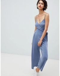 Abercrombie & Fitch - Knitted Jumpsuit - Lyst