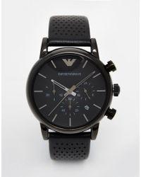 Emporio Armani - Watch Luigi Ar1737 - Lyst