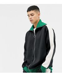 Noak - Relaxed Fit Polytricot Track Jacket - Lyst