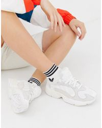 adidas Originals - Yung'1 Sneakers In Off White - Lyst