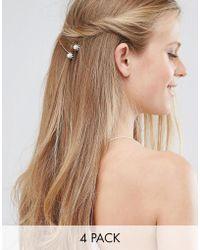 LoveRocks London - Rhinestone Burst Hair Clip Multipacks - Lyst