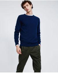 Aspesi - Cashmere Roundneck Sweater - Lyst