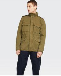 Aspesi - Jacket Minifield Cot - Lyst