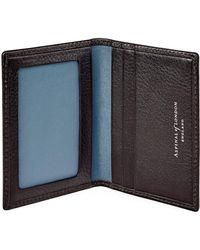 Aspinal - The Aerodrome Id & Travel Card Case - Lyst