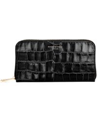 Aspinal - Continental Clutch Zip Wallet - Lyst