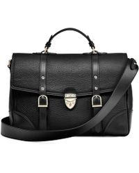 Aspinal - The Large City Mollie Satchel - Lyst