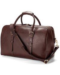 Aspinal - Harrison Weekender Travel Bag - Lyst