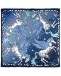 Aspinal of London - Pegasus Cashmere Blend Scarf - Lyst
