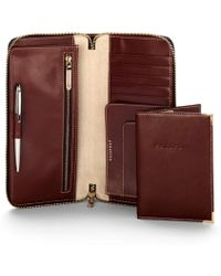 Aspinal of London - Stunning Passport & Document Holder - Zipped Travel Wallet & Cover - Lyst