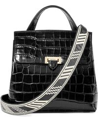 Aspinal - Soho Backpack With Deco Embroidered Straps - Lyst