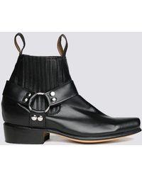 Chamula - Leather Botin Cochi Boot - Lyst