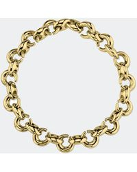 Gabriela Artigas - Gold Egg Link Bracelet - Lyst
