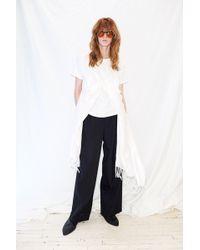 Collina Strada - Pashmina T-shirt - White - Lyst