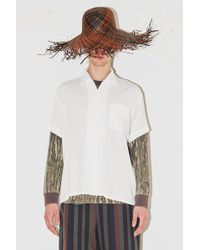 Assembly - Camp Button Up - White - Lyst