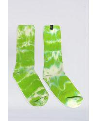 Assembly - Cotton Tie Dye Sock - Green - Lyst