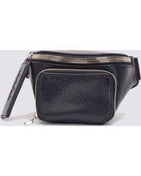 Kara - Black Bum Bag - Lyst