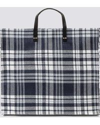 Clare V. - Simple Plaid Tote - Lyst