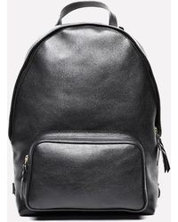 Lotuff Leather - Leather Zipper Backpack - Lyst
