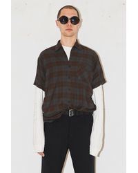 Assembly - Camp Button Up - Plaid - Lyst