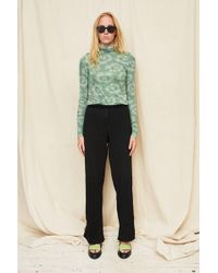 Assembly - Cotton Rib Simple Pant - Lyst