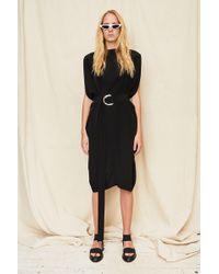 Assembly - Black Silk Gemini Dress - Lyst