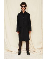 Assembly - Black Car Coat - Lyst