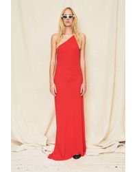 Assembly - Red Single Strap Maxi Dress - Lyst