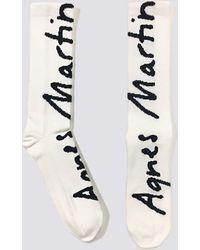 Assembly - Agnes Martin Handwriting Sock - Lyst