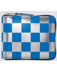 Comme des Garçons - Leather Optical Wallet - Blue - Sa-7100gb - Lyst