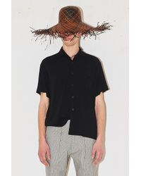 Assembly - Camp Button Up - Black - Lyst