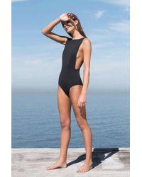 Haight - New Side Slit Maillot Swimsuit - Lyst