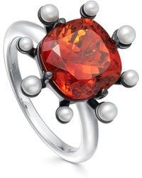 Astley Clarke - Mandarin Garnet Ring - Lyst