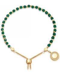 Astley Clarke - Green Onyx Cosmos Kula Bracelet - Lyst