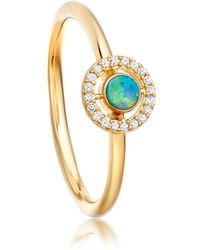Astley Clarke | Opal Mini Icon Aura Ring | Lyst