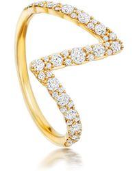 Flash Interstellar diamond ring - Metallic Astley Clarke X1UYm
