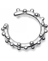 Astley Clarke Floris Rose Gold Hoop Earrings - Metallic