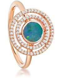 Astley Clarke | Blue Opal Icon Aura Ring | Lyst