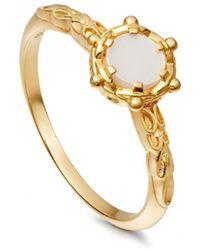 Astley Clarke - Mother Of Pearl Floris Ring - Lyst