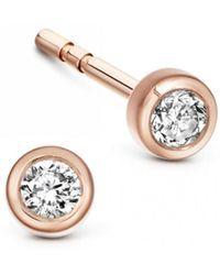 Astley Clarke - Icon Nova Diamond Stud Earrings - Lyst