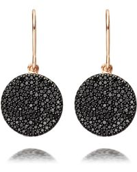 Astley Clarke - Icon Black Diamond Earrings - Lyst