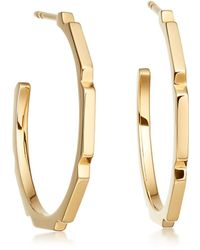 Astley Clarke - Aubar Large Hoop Earrings - Lyst