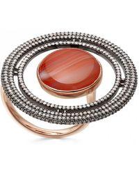 Astley Clarke - Agate Saturn Ring - Lyst