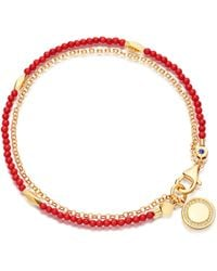 Astley Clarke - Sea Bamboo Faceted Nugget Biography Bracelet - Lyst