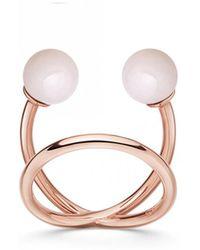 Astley Clarke - Pink Opal Yves Ring - Lyst