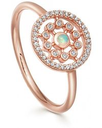 Astley Clarke - Medium Icon Nova Opal Ring - Lyst