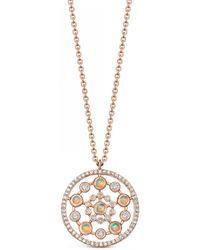 Astley Clarke - Medium Icon Nova Opal Pendant Necklace - Lyst