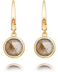 Astley Clarke - Mini Round Stilla Earrings - Lyst