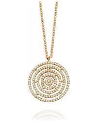 Astley Clarke - Icon Aura Diamond Pendant Necklace - Lyst