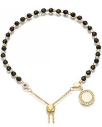 Astley Clarke - Black Onyx Cosmos Kula Bracelet - Lyst