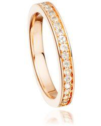 Astley Clarke Little Heart Gold Diamond Ring